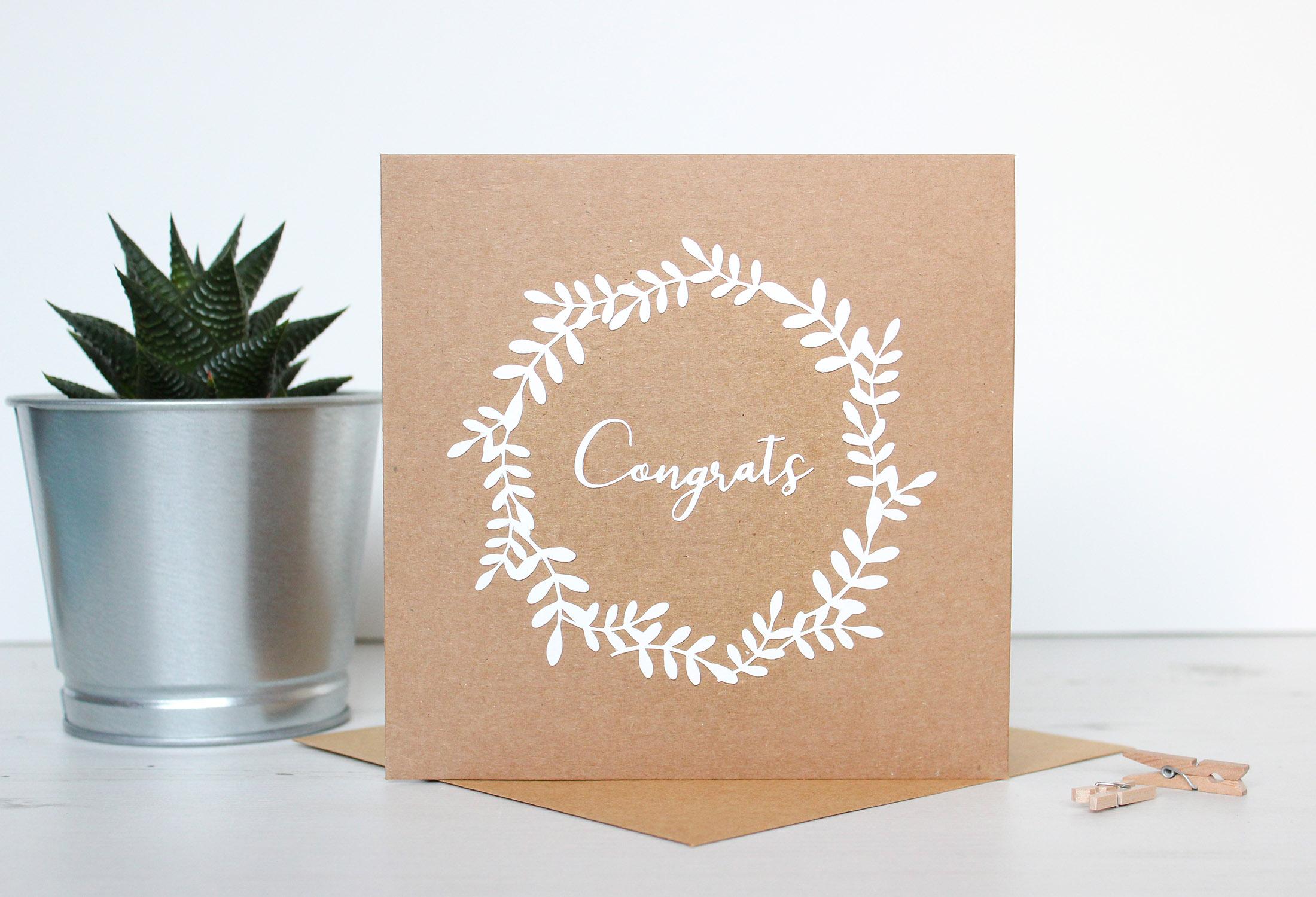 Greeting Cards Kiwi Tree Designs