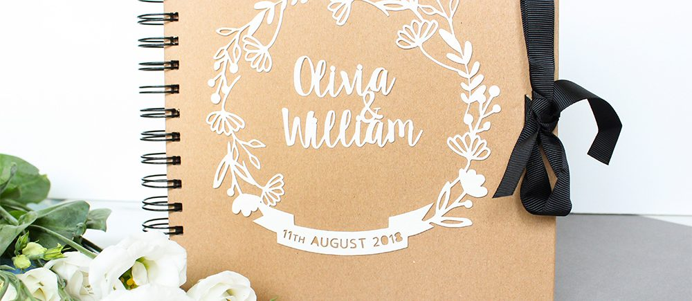Floral Wedding Guestbooks KTD