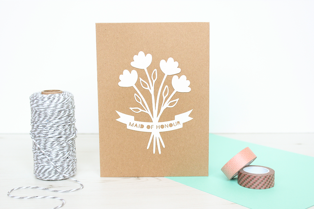 maid of honour-card-KTD