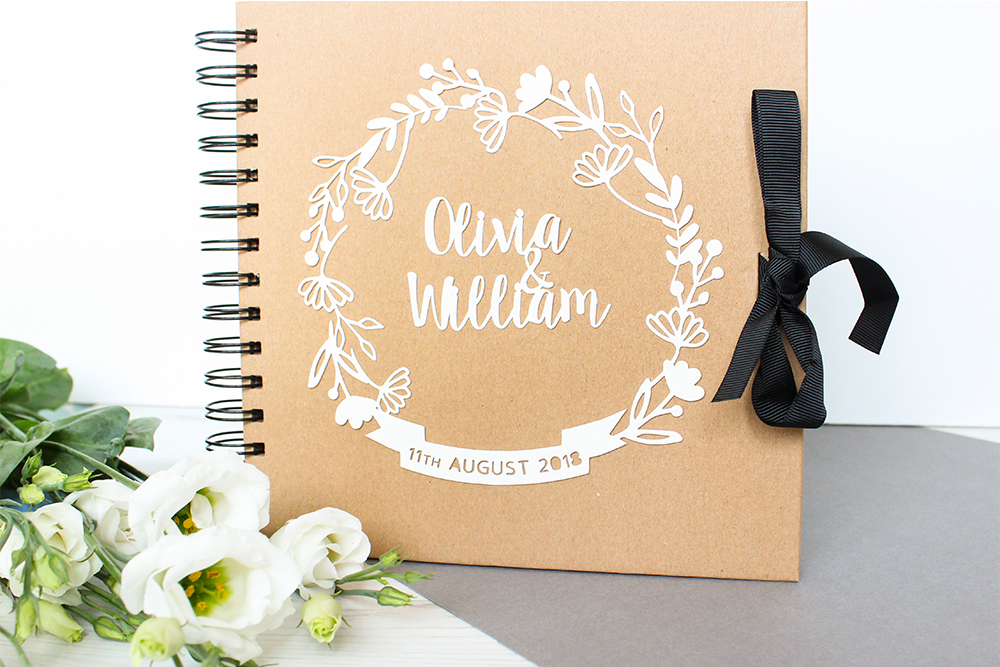 Floral Wedding Guestbooks